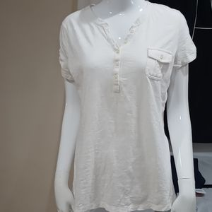 NWOT Sonoma 100% Cotton Top